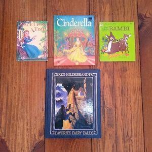 Vintage Childrens Books Bundle